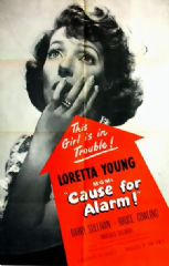 Cause for Alarm 1951 DVD - Loretta Young / Barry Sullivan